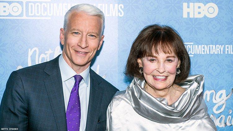 Anderson Cooper Inherits 1.5 Million From His Mother, Gloria Vanderbilt